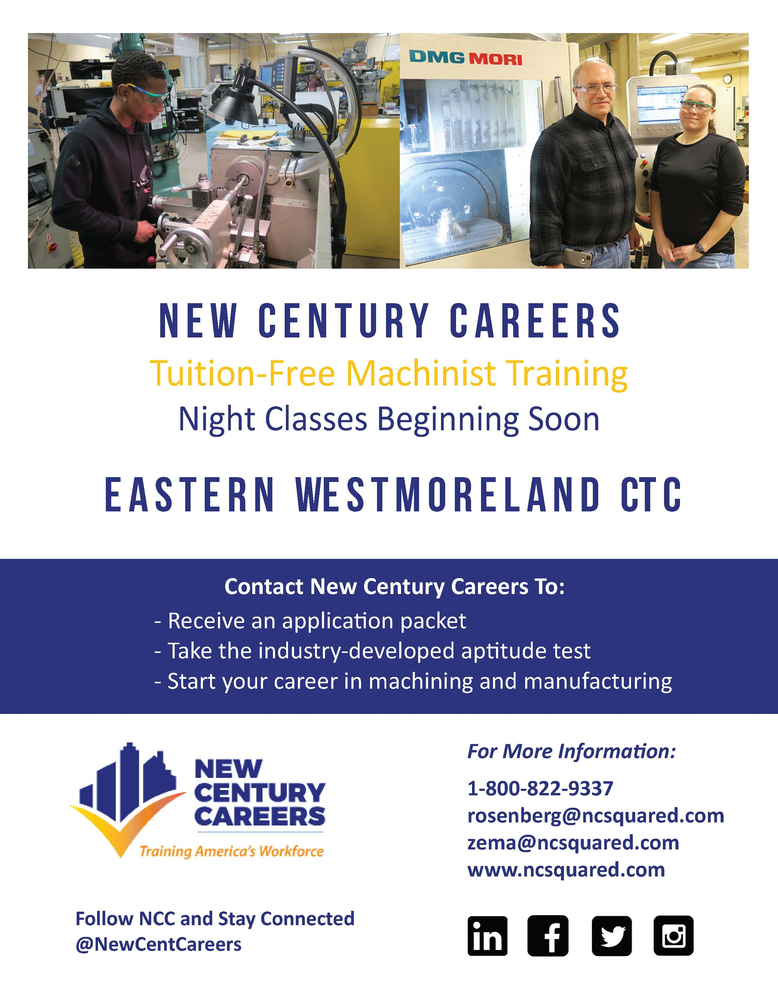 Eastern Westmoreland Career and Technology Center / Overview